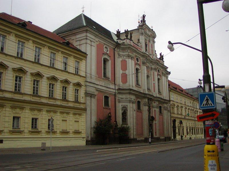 Kostel a klášter Sv. Voršily
