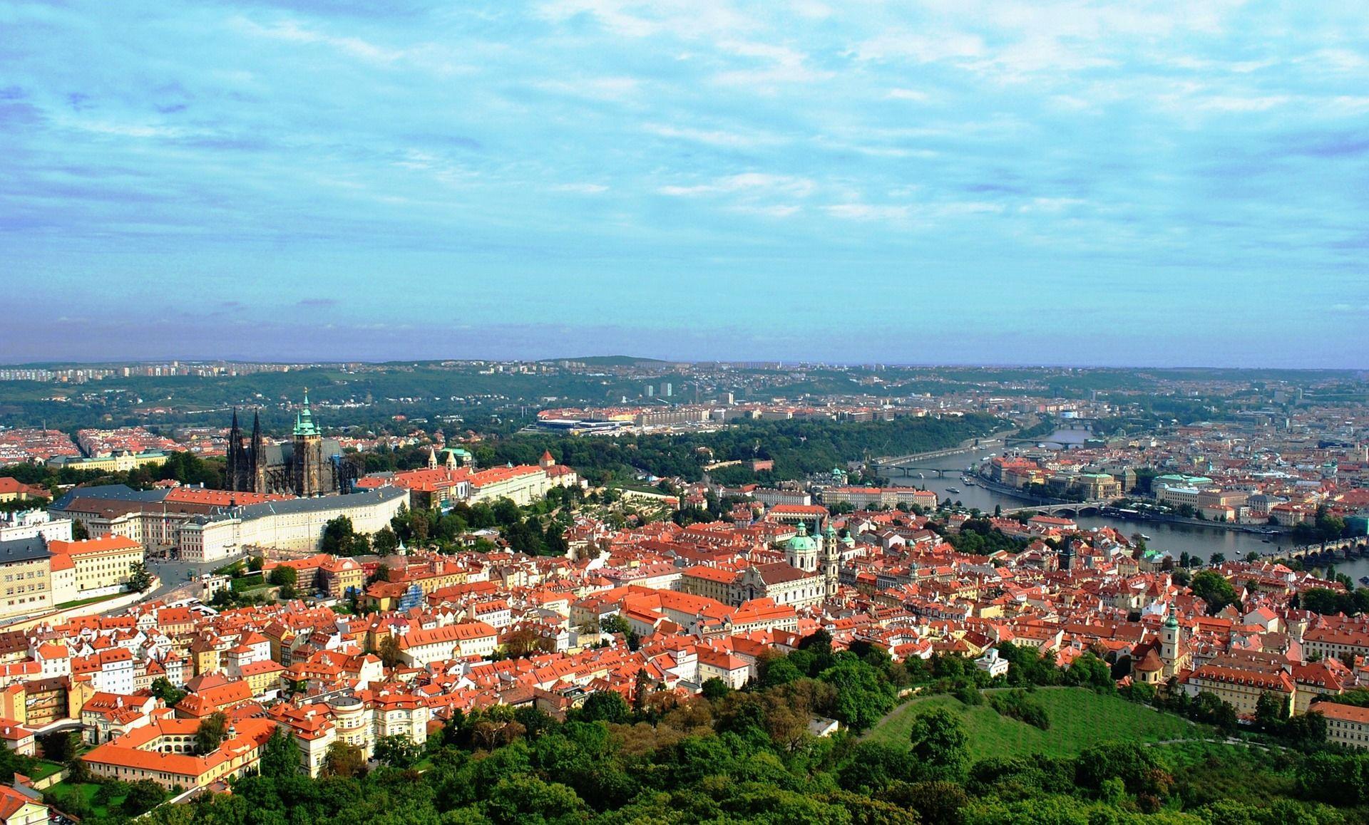 Praha panorama
